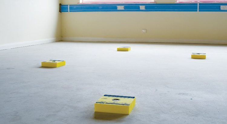 Floor Prep for school flooring in birmingham