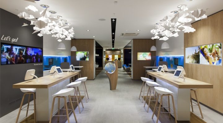 Technology retail bar