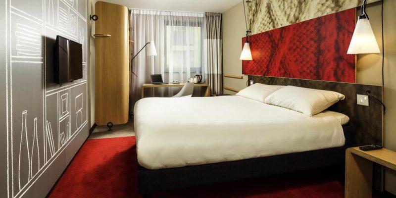 Hotel room in Birmingham