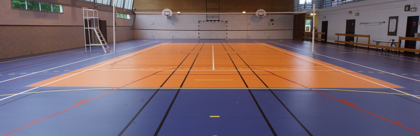 Multi school sports hall - Sports Flooring in Birmingham