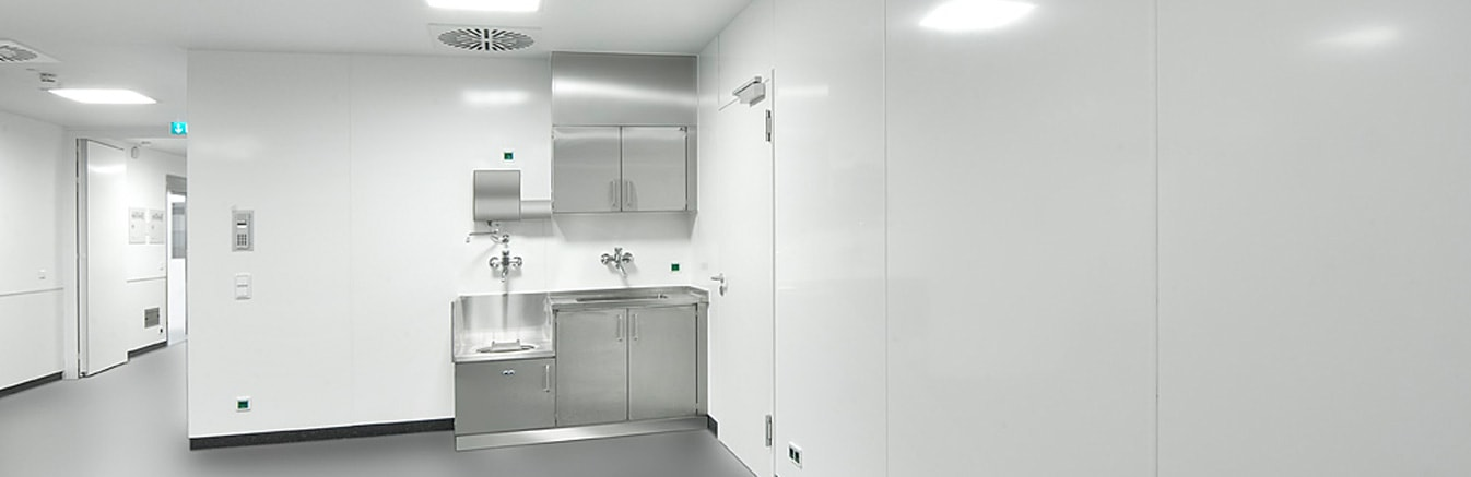 Hygienic Wall Cladding in Birmingham - Altro Whiterock