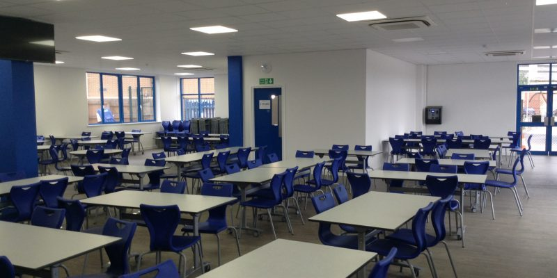 classroom with school flooring in birmingham